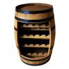 Fasskönigbar aus Weinfass Fassbar Fassregal TREBBIANO 1 aus massivem Eichenfass