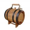 Holzfass INZOLIA mit Halterung Weinfass Schnapsfass Eichenfass Barriquefass